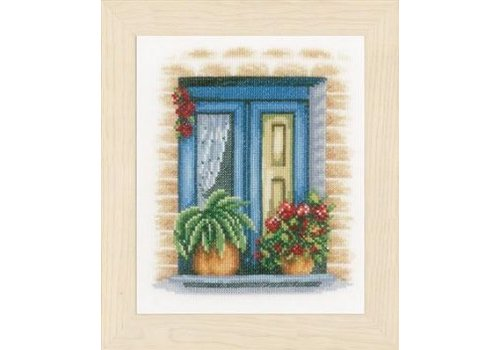 Lanarte Blauw raam