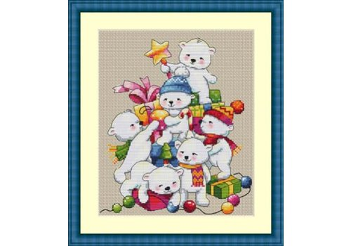 Merejka Christmas Bears