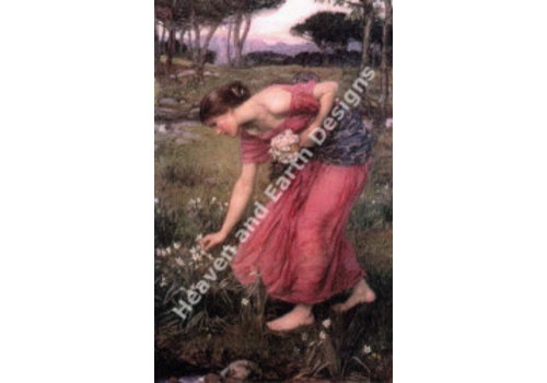 Heaven and Earth Designs  Waterhouse: Narcissus