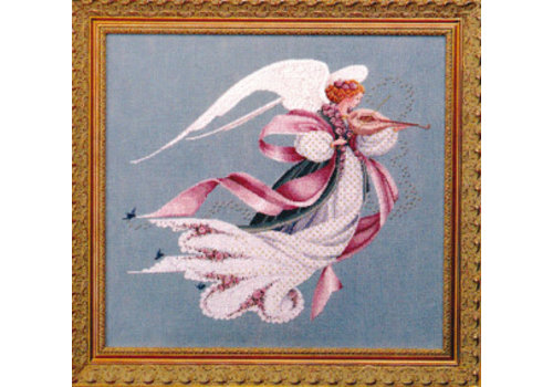 Lavender and Lace Angel of Spring - patroon