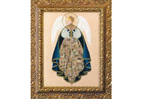 Lavender and Lace Angel of Love - patroon