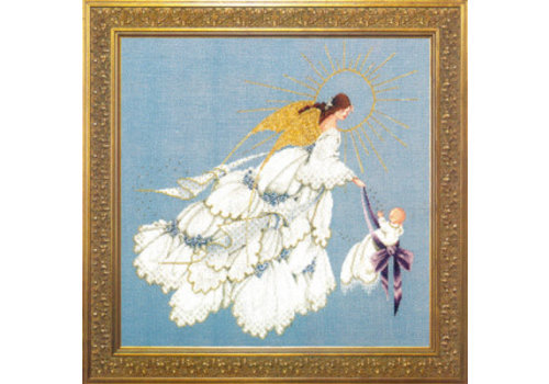 Lavender and Lace Angel of Mercy II - patroon