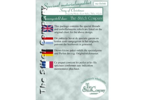 The Stitch Company Song of Christmas - spec. mat.