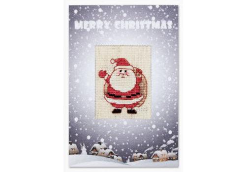 Luca-S Postcard Santa