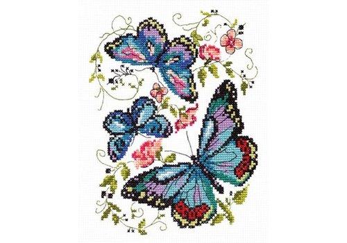 Chudo Igla Blue butterflies
