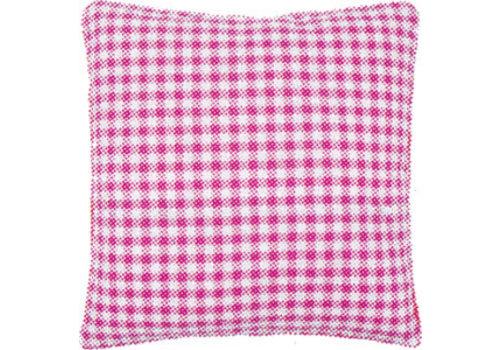 Vervaco Kussenrug roze ruit (45x45 cm.)