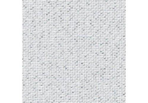 Zweigart Zweigart Aida  wit-zilver 7-110