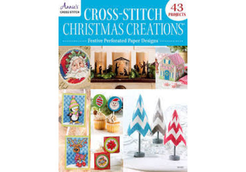 Cross-Stitch Christmas Creations (perforated paper)