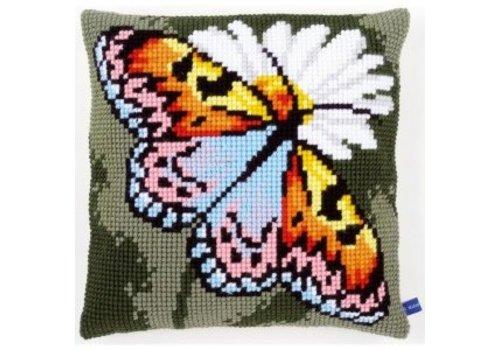 Vervaco Vlinder en margriet