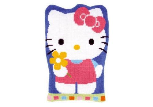 Vervaco Hello Kitty: Bbloem