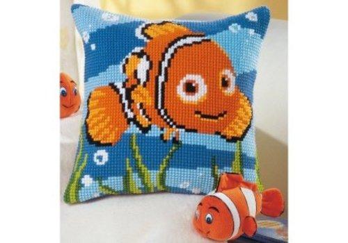 Vervaco Borduurkussen Nemo