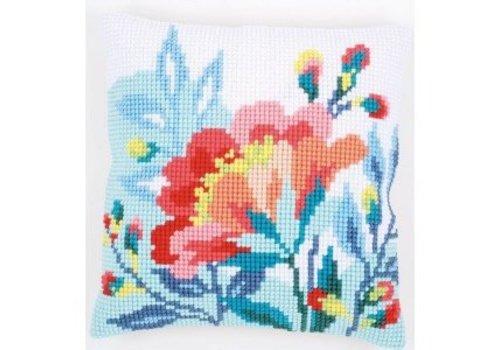 Vervaco Bloem in frisse kleuren
