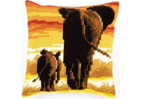 Vervaco Olifanten in avondlicht
