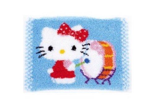 Vervaco Knoopkleedje Hello Kitty speelt op trom