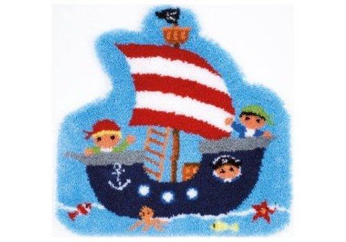 Vervaco Knoopkleedje: Piratenboot