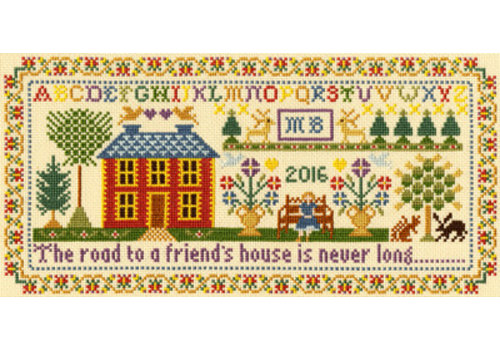 Bothy Threads Moira Blackburn - Friends House - Bothy Threads