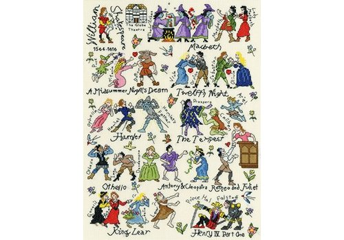 Bothy Threads Historical - Shakespeare - Bothy Threads