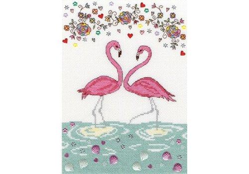 Bothy Threads Love - Love Flamingo - Bothy Threads