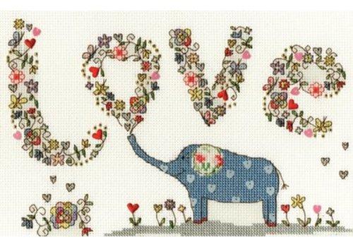 Bothy Threads Love - Love Elly  - Bothy Threads
