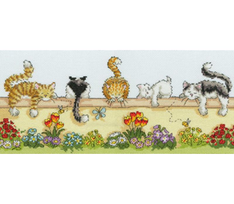 Animals - Lazy Cats - Bothy Threads