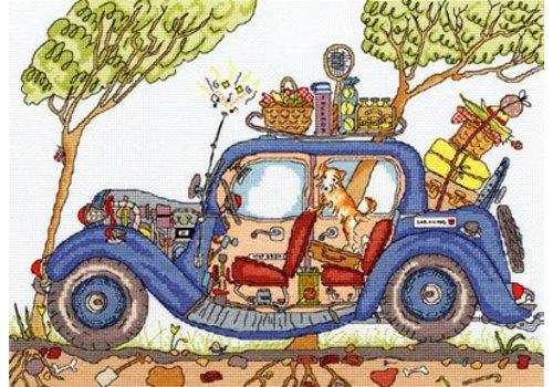 Bothy Threads Cut Thru' - Vintage Car - Bothy Threads