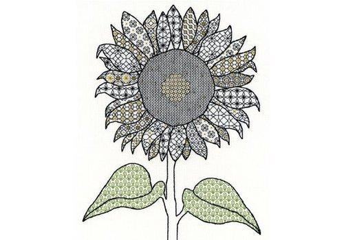 Bothy Threads Blackwork - Sunflower - Bothy Threads