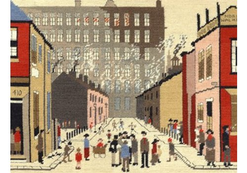 Bothy Threads Lowry - Street Scene - Bothy Threads