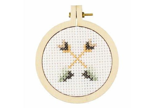 Stitchonomy  Pijlen - mini hoop