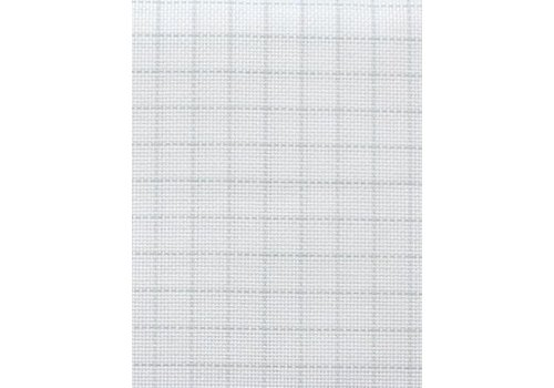 Zweigart Easy Count Aida 18 ct, White 50x55 cm