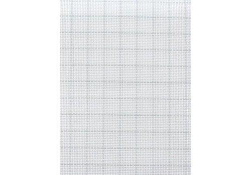 Zweigart Easy Count Aida 18 ct, White 110 cm