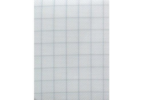 Zweigart Easy Count Aida 14 ct, White 110 cm