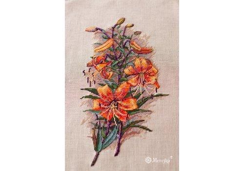 Merejka Vintage Lilies (Aida)