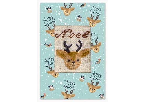 Luca-S Borduurpakket Postcard Reindeer - Luca-S