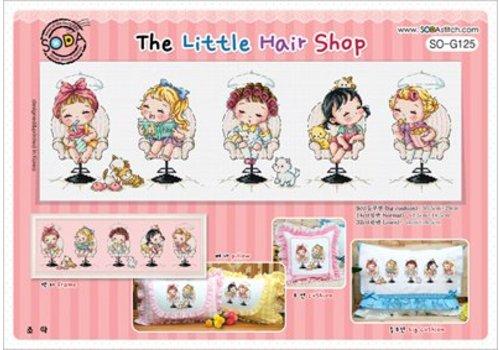 Soda Stitch Borduurpatroon The Little Hair Shop - Soda Stitch