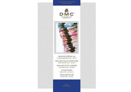 DMC DMC Kleurenkaart 2017 Nieuw