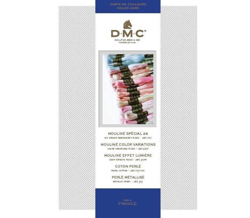 DMC Kleurenkaart 2017 Nieuw