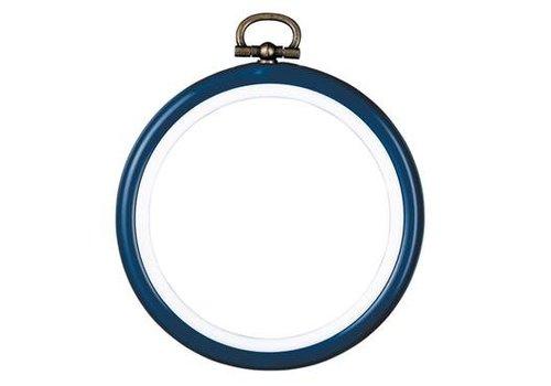 Vervaco Lijst/borduurring 7,5 cm - blauw