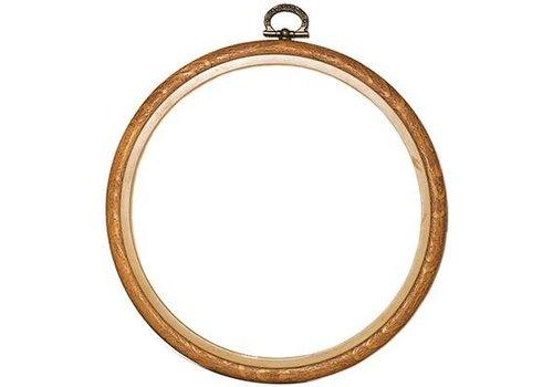 Vervaco Lijst/borduurring 17 cm - houtkleur