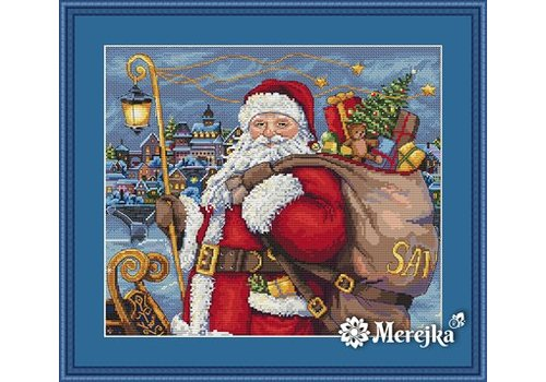 Merejka Borduurpakket Santa is Coming!