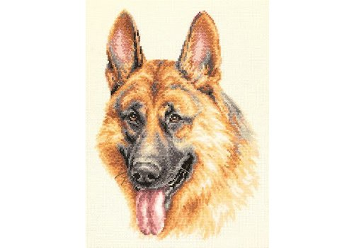 Chudo Igla Borduurpakket German Shepherd