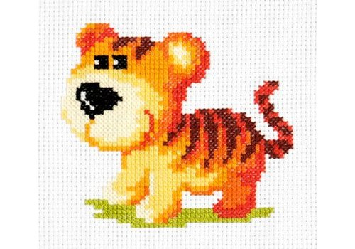Chudo Igla Borduurpakket Tiger cub