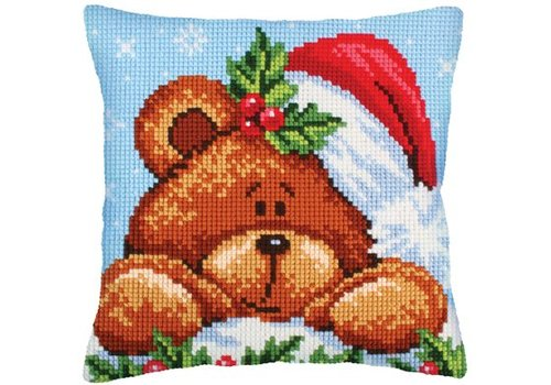 Collection d'Art Christmas with a teddybear