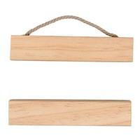 2 Delige houten hanger 10cm