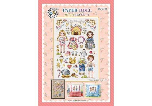 Soda Stitch Paper Doll Hansel and Gretel