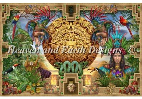 Heaven and Earth Designs  Ciro Marchetti: Mini Mayan Aztec Montage