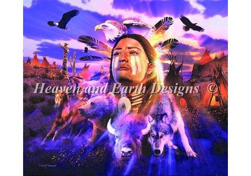 Heaven and Earth Designs  David Penfound Artworks: Brave Spirit