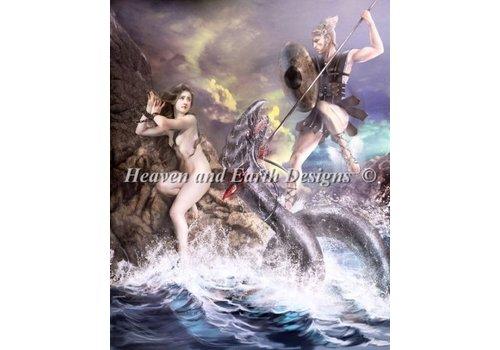 Heaven and Earth Designs  Drazenka Kimpel: Perseus and Andromeda