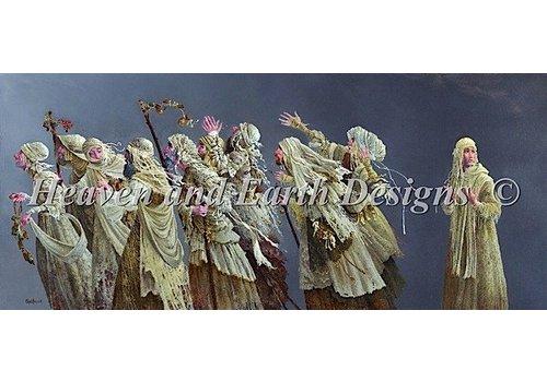 Heaven and Earth Designs  James C. Christensen - Ten lepers