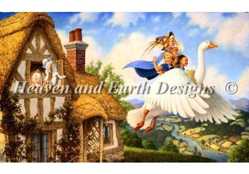 Heaven and Earth Designs  Scott Gustafson - Old Mother Goose