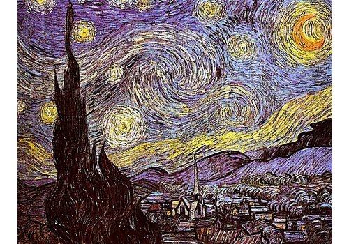 Heaven and Earth Designs  Vincent van Gogh: The Starry Starry Night